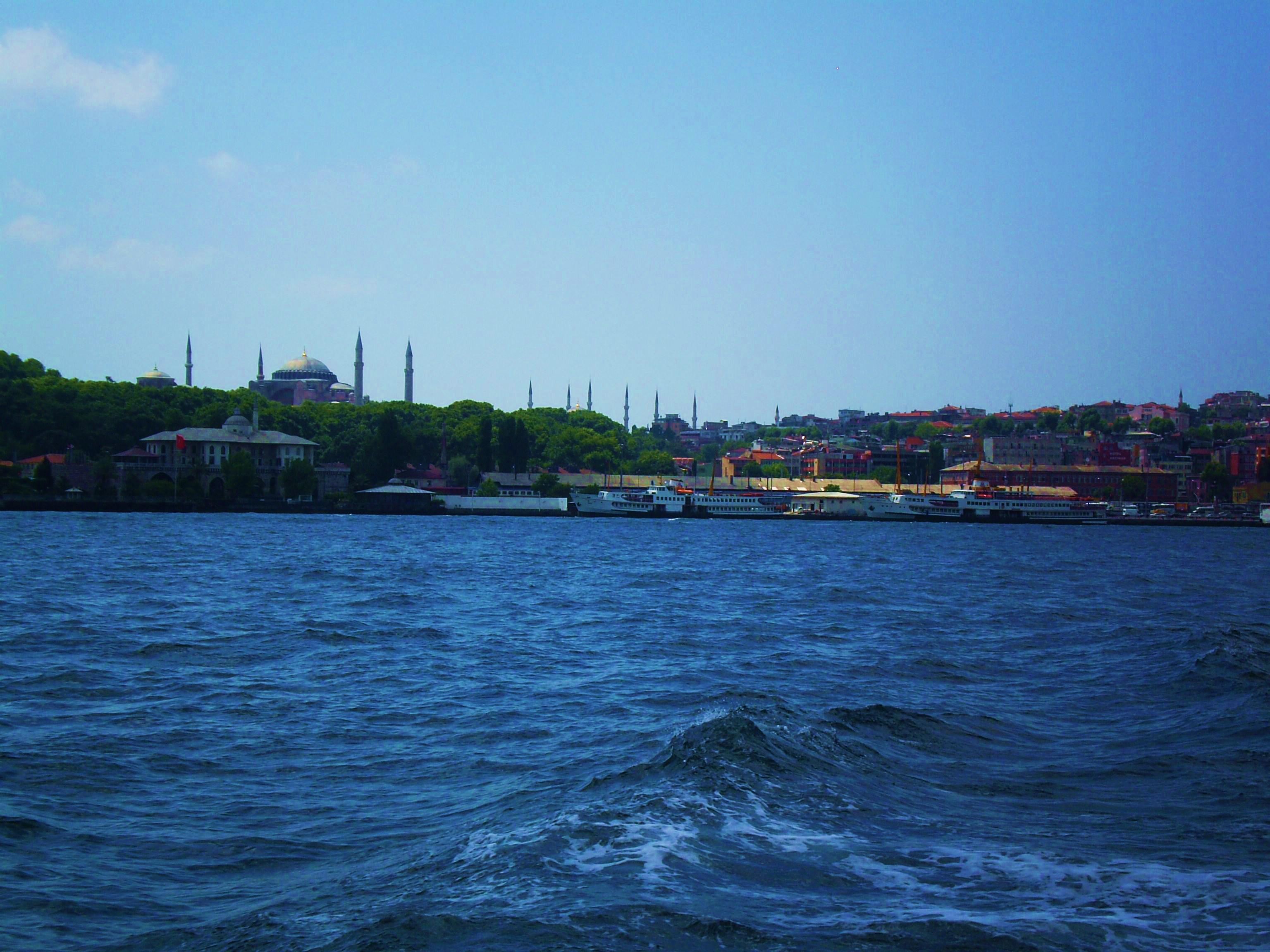 Paseo por el Bósforo, Estambul