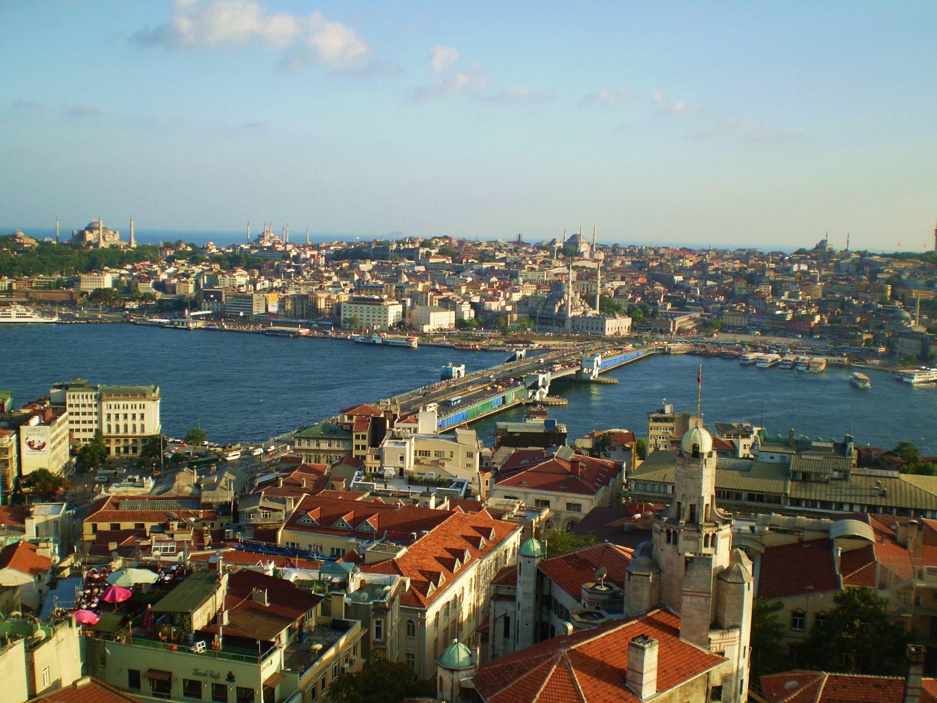 Estambul desde la Torre Galata