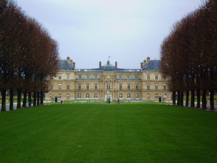 Jardines del Palacio de Luxemburgo