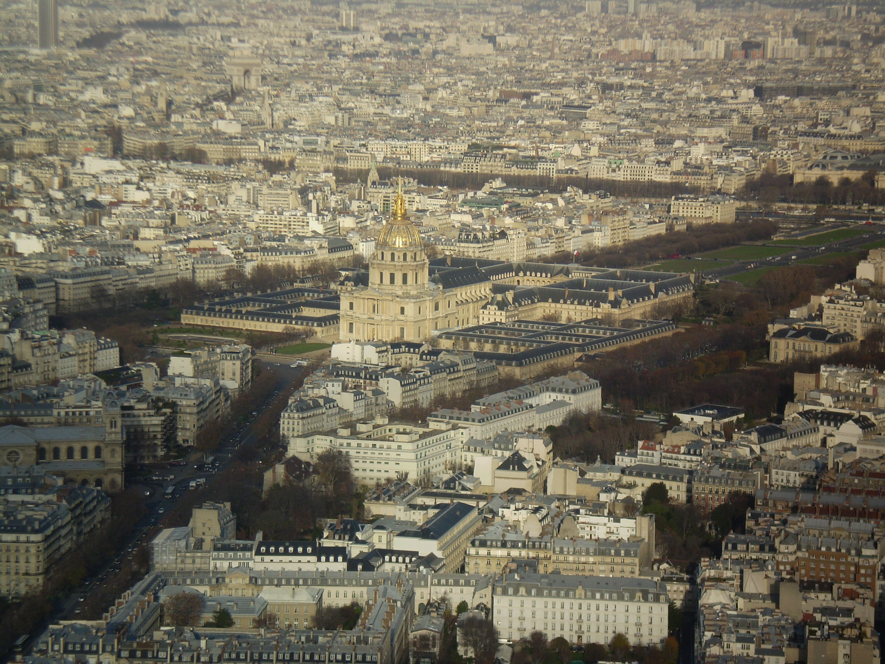 Paris desde la Torre de Montparnasse