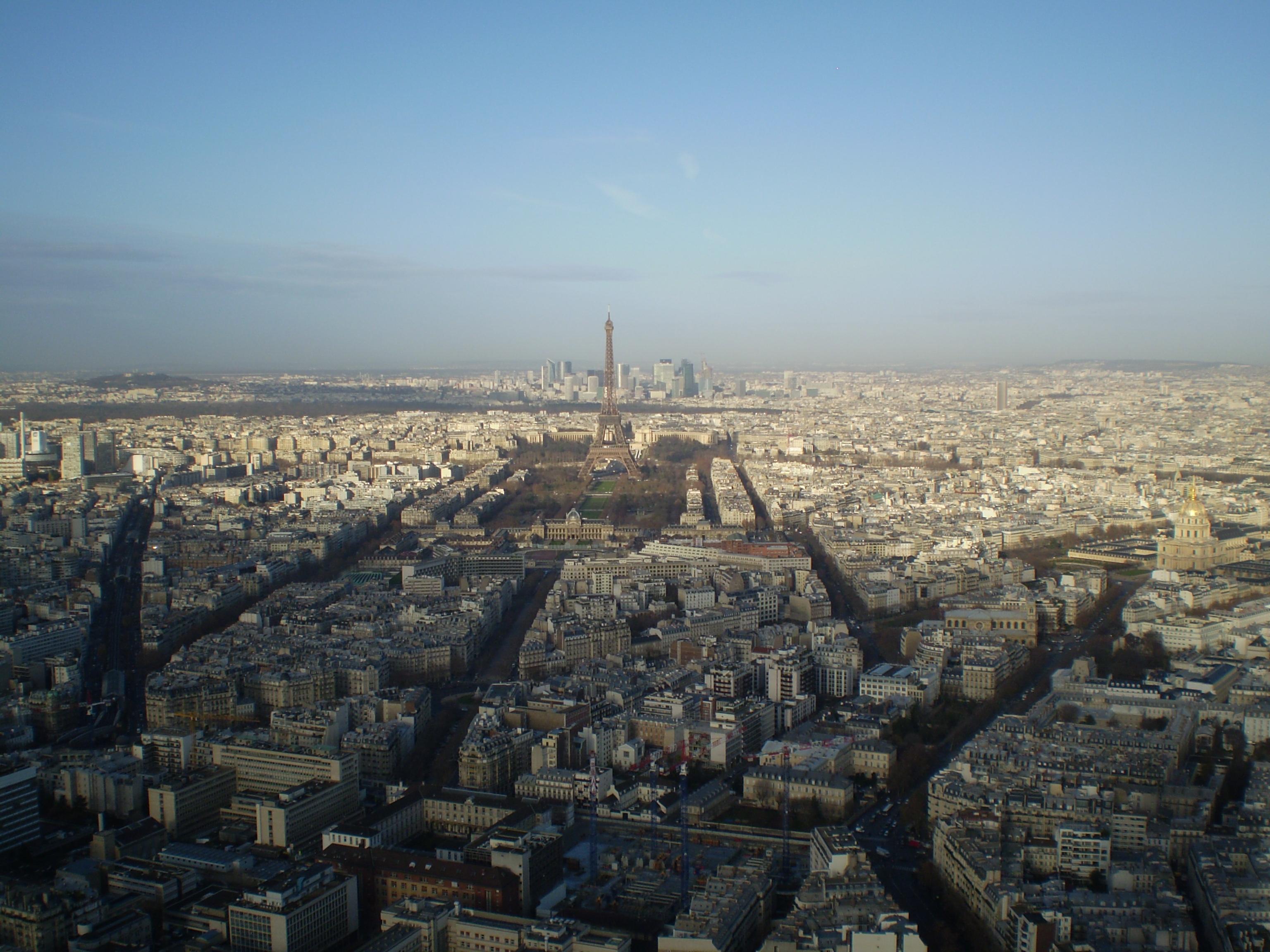 Paris desde la Torrede Montparnasse
