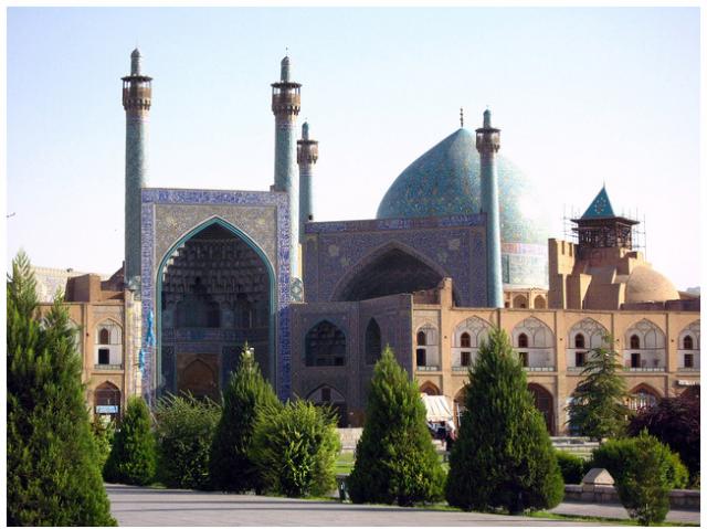 Mezquita del Iman, Iran