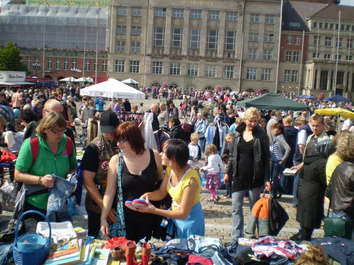 Mercadillo de Segundamano en Rathausplatz