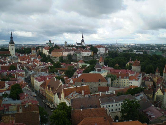 Vistas desde la torre de San Olav