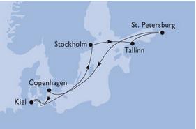 crucero capitales balticas