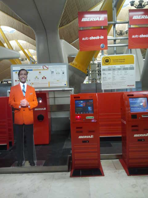 Iberia auto check-in