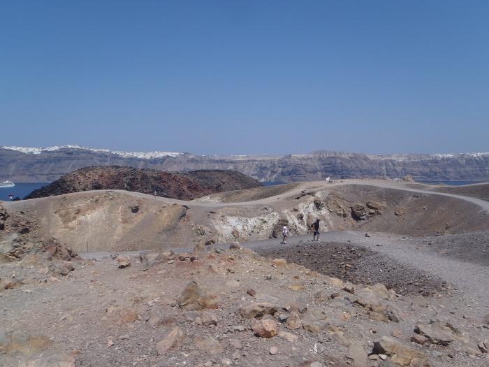 Nea Kameni - Volcan
