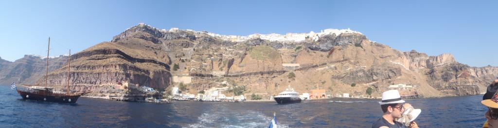 Panoramica Santorini