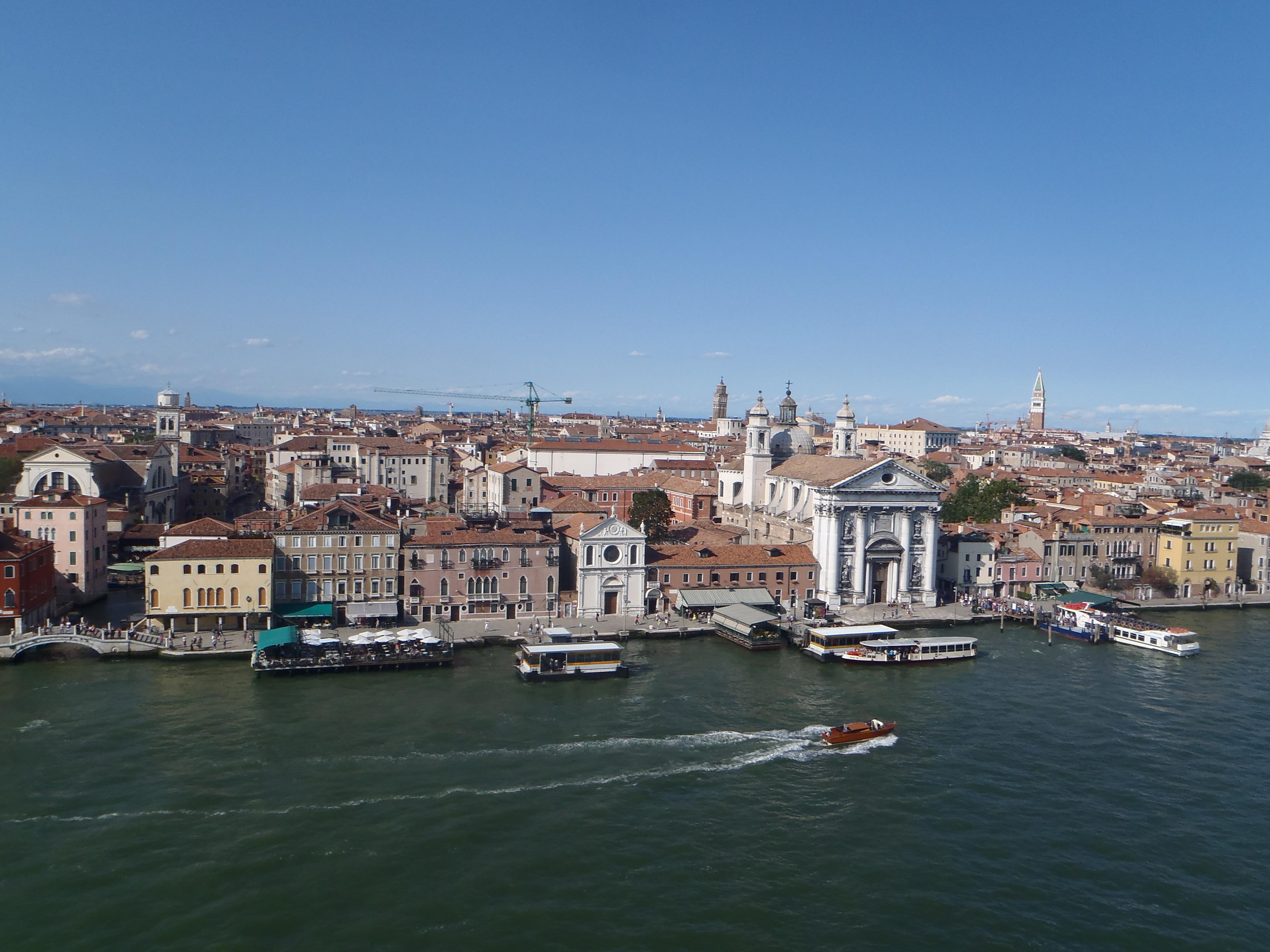 Venecia desde Barco Crucero