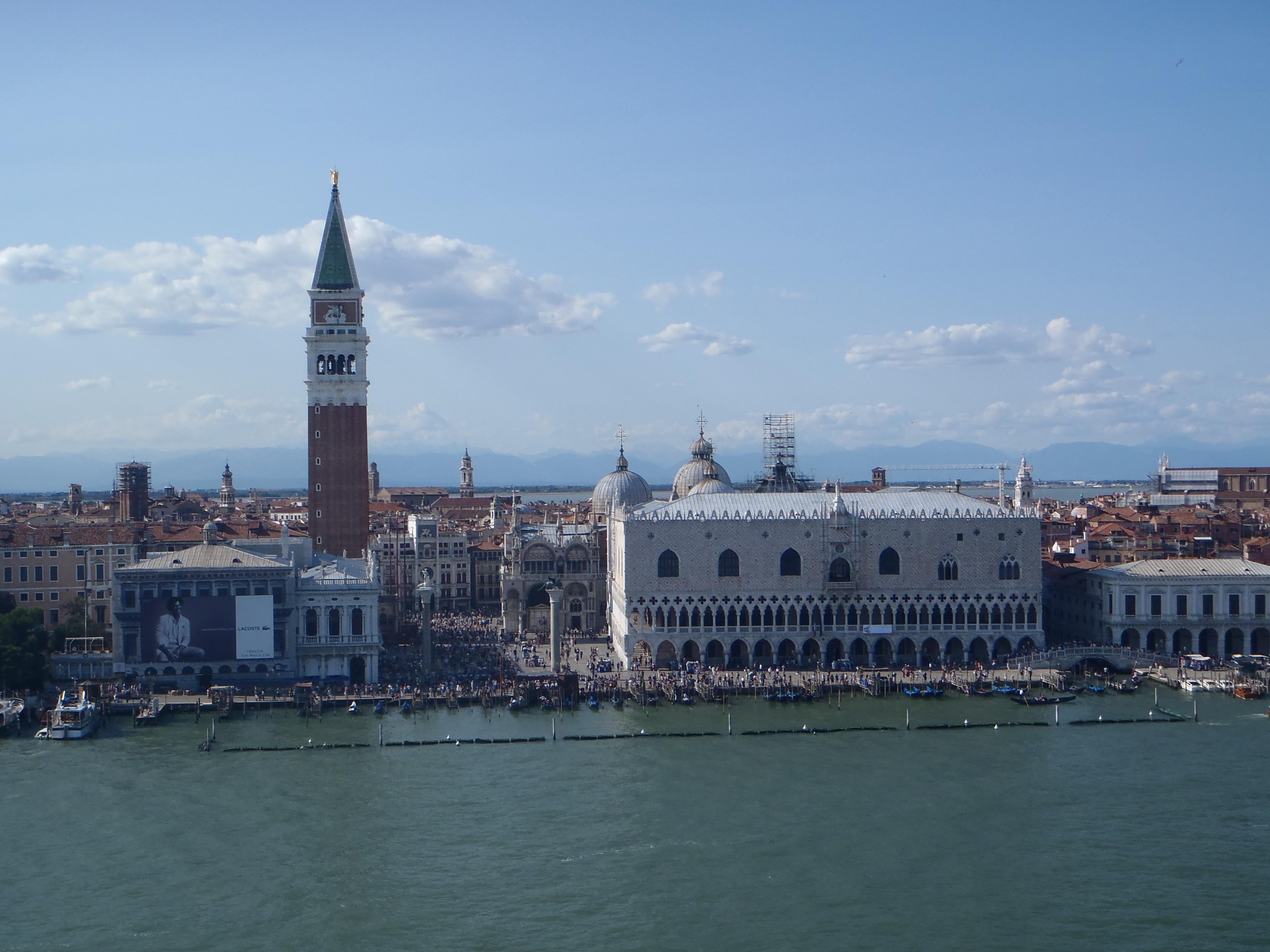 Venecia desde el barco