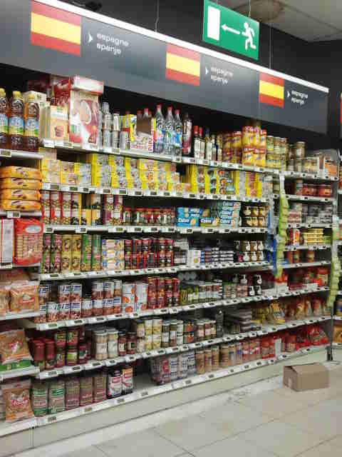 Carrefour Bruselas