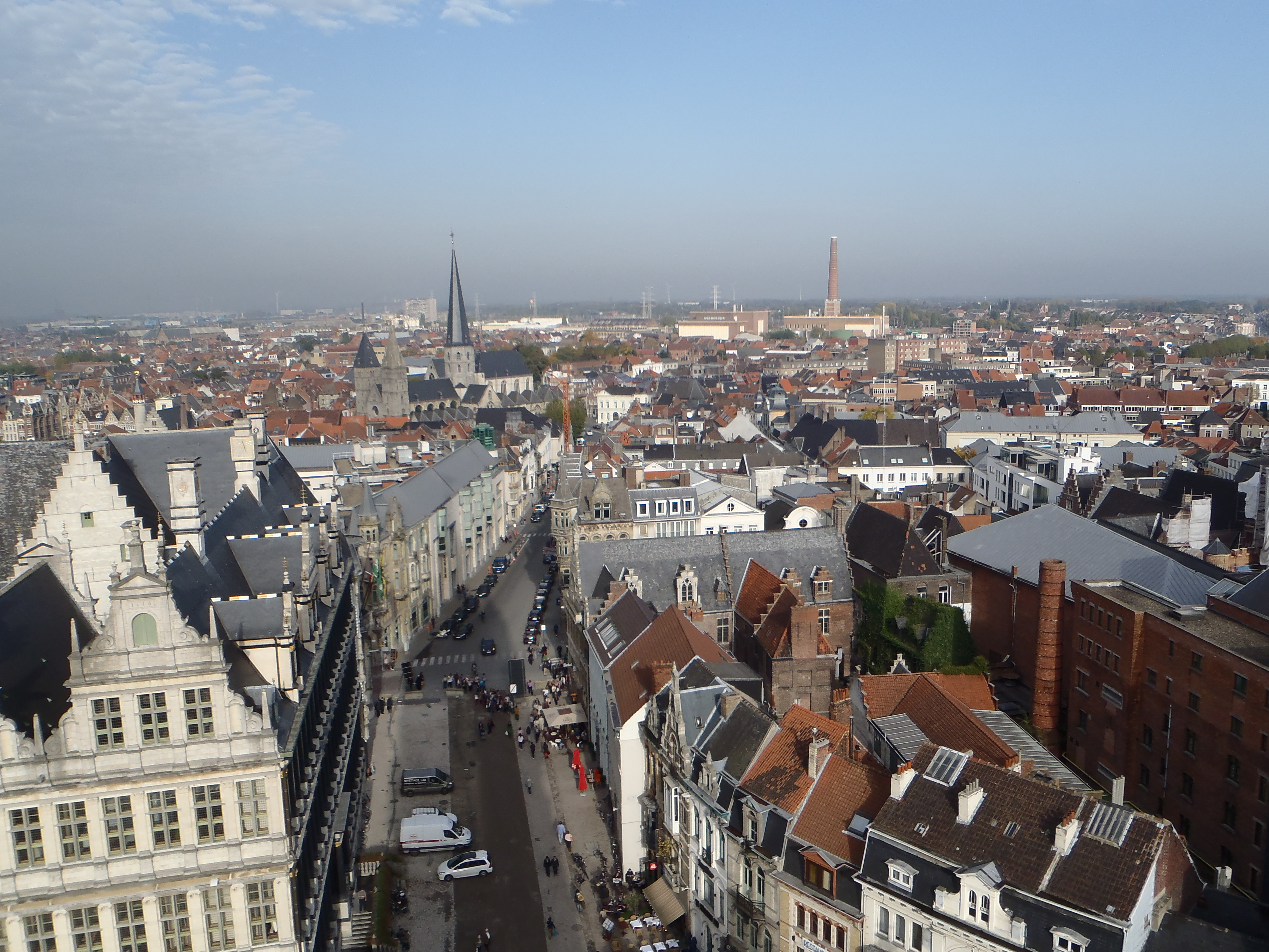 Gante, vistas desde Torre Belfort