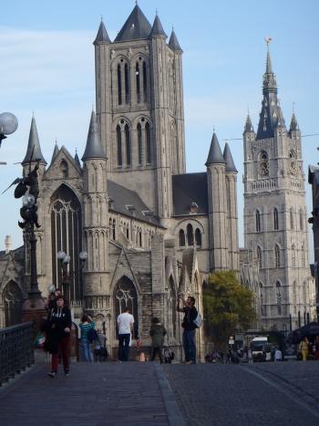Las tres torres de Gante, Puente San Miguel.