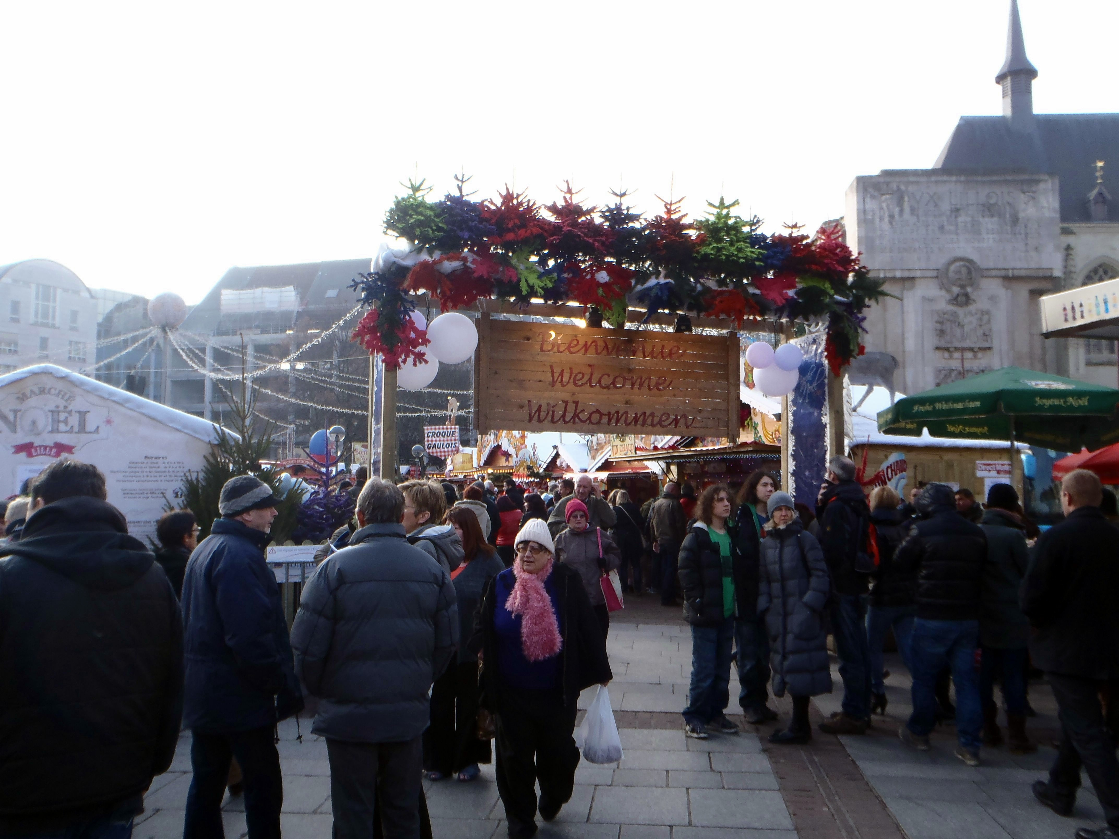 Mercado de Navidad en Lille