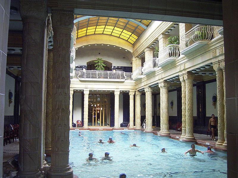 Baño Grande Balneario:Balnearios en Budapest