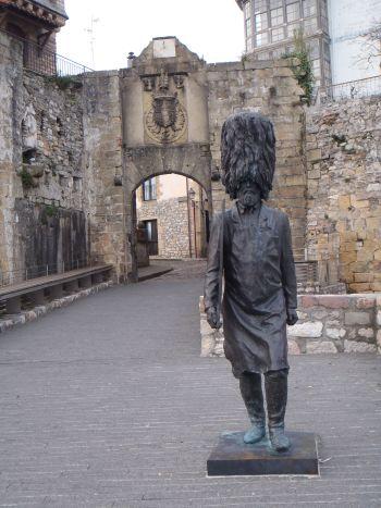Puerta Santa Maria, Hondarribia