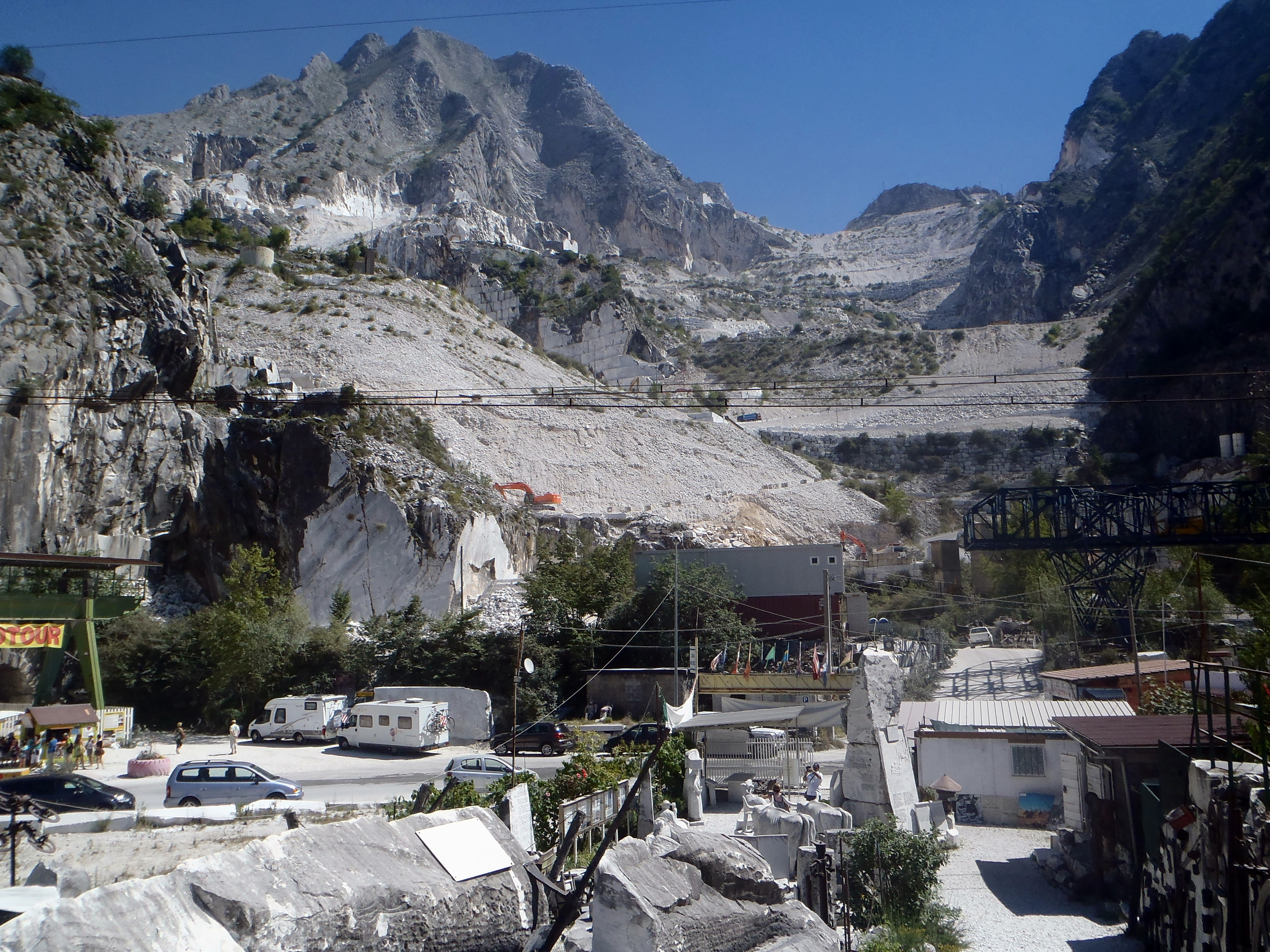 Cantera – Museo de Fantiscritti – Carrara