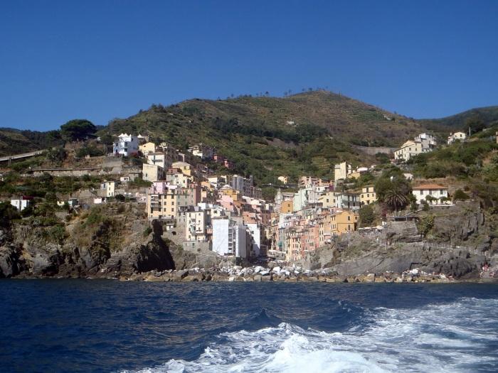 Riomaggiore desde el mar