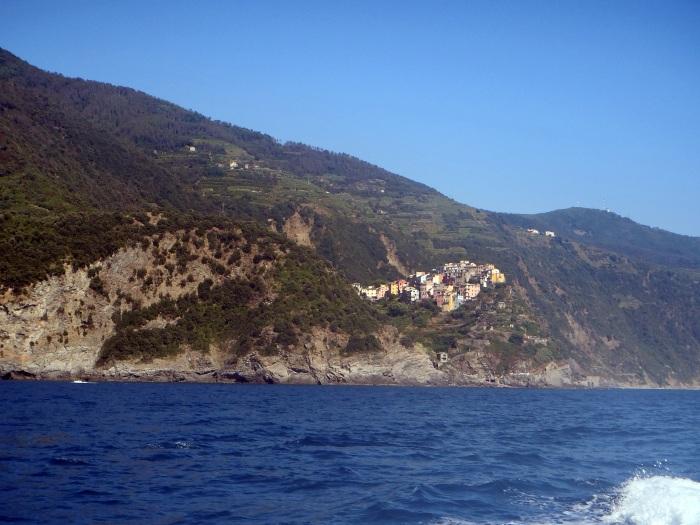 Corniglia desde el mar