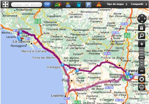 Itinerario Florencia – Monterosso al Mare