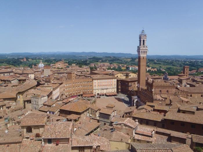 Siena vista desde Il Facciatone