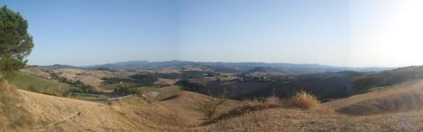 Panorámica de Toscana