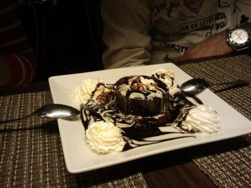Volcán de chocolate Premierk Getxo