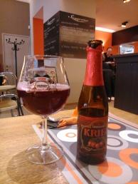 Cerveza Kriek Lindemans