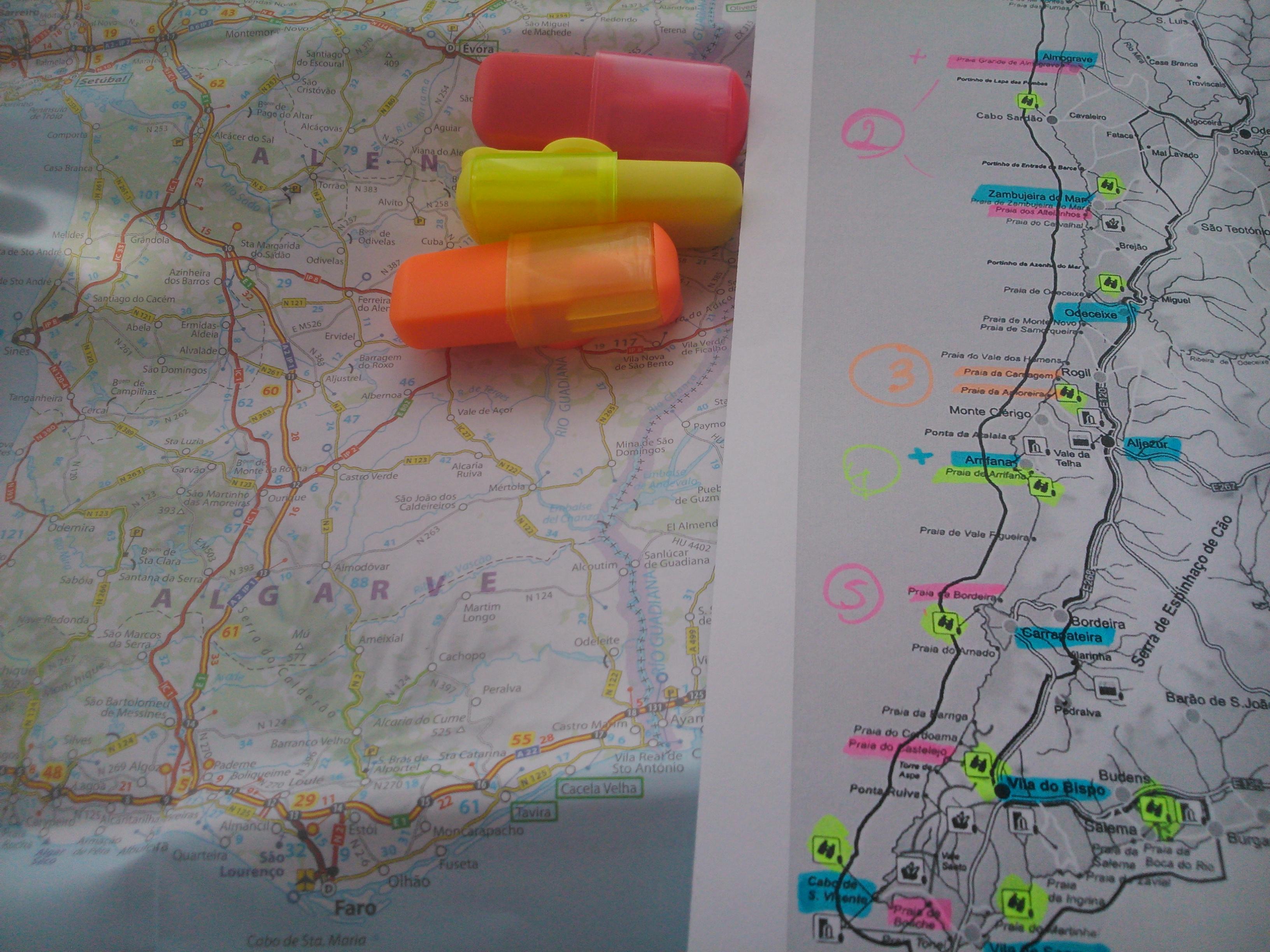 Mi ruta Costa Alentejana