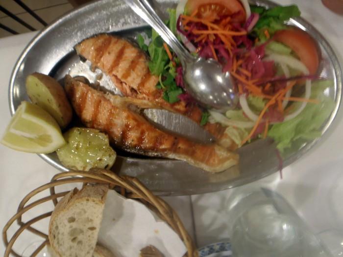 Salmón, Restaurante Floresta do Salitre
