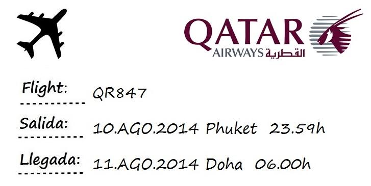 flight phuket doha