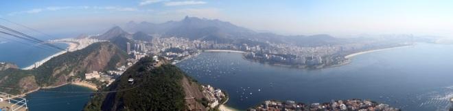 Rio desde Pão de Açúcar