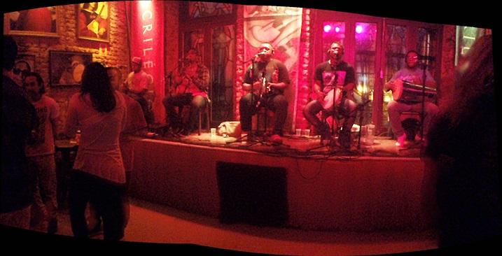Samba en Café Sacrilégio